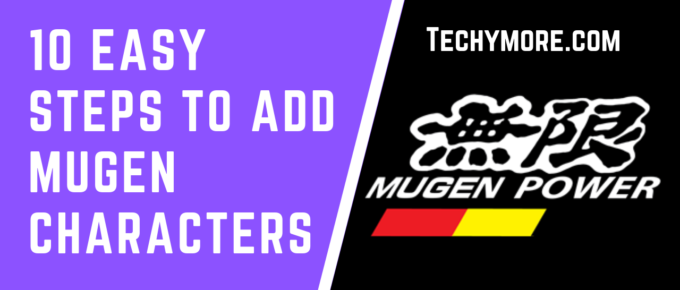How to add characters to Mugen