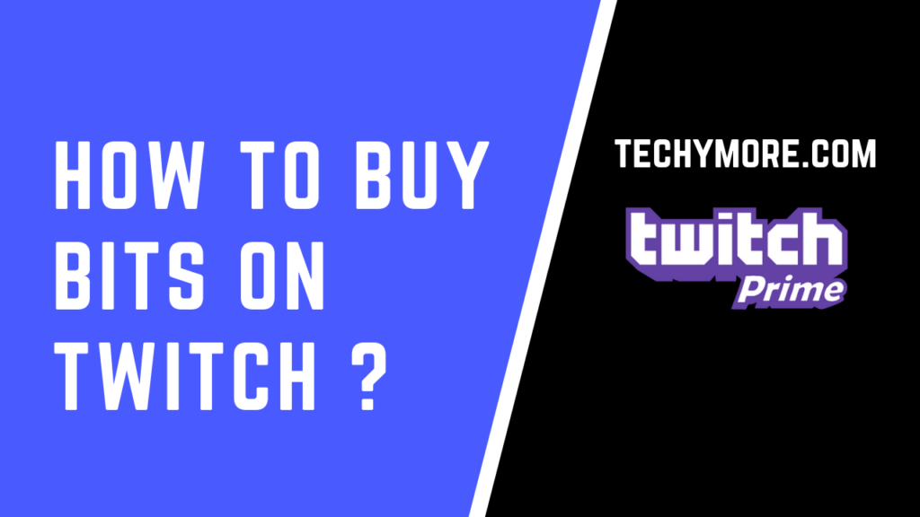 How to buy bits on twitch