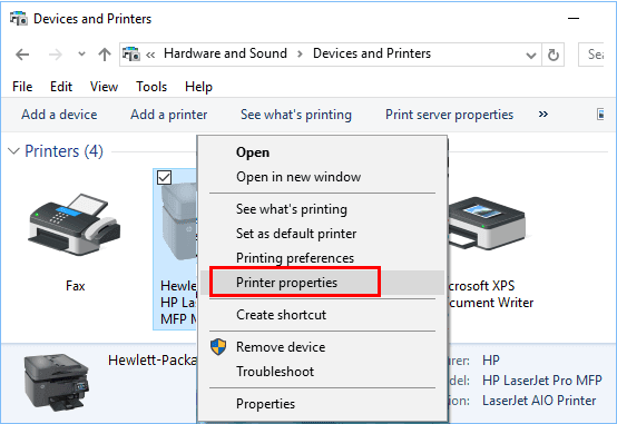 How To Find The Printer IP Address