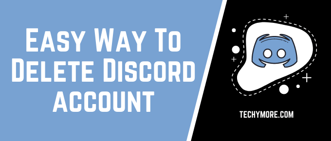 How to delete discord account